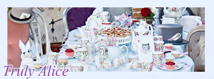 Alice in Wonderland Party Tableware