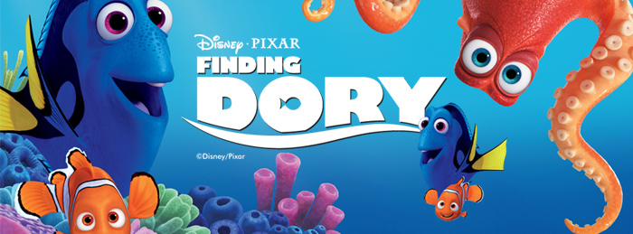 Finding Dory Party Tableware