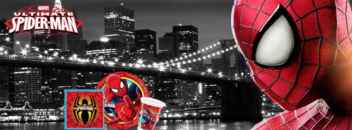 Spiderman Party Tableware