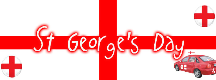 St Georges Day Decorations, Tableware & Balloons