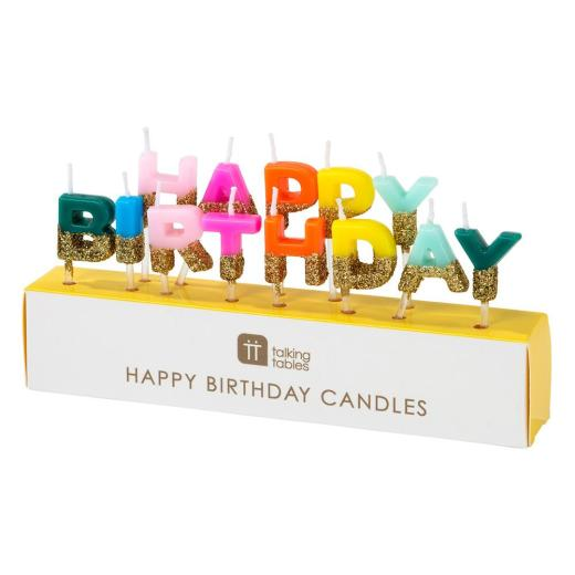 Adult RAINBOW HAPPY BIRTHDAY CAKE HAT Headwear Fancy Dress Party Candles UK