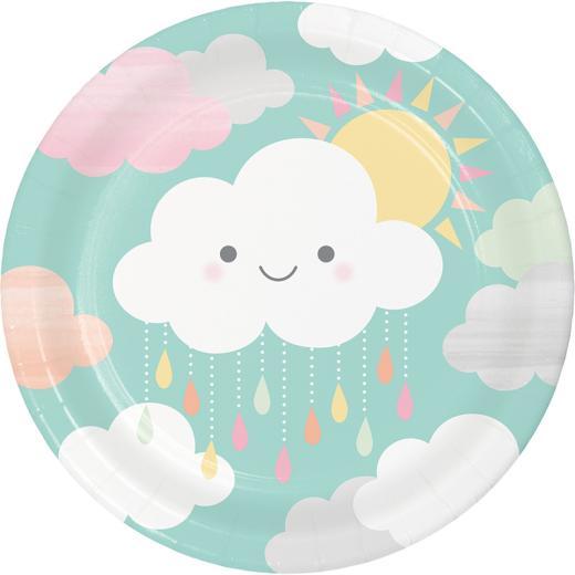 34526b38c43fa1 Sunshine Baby Shower Plates 8s - Non Stop Party Shop